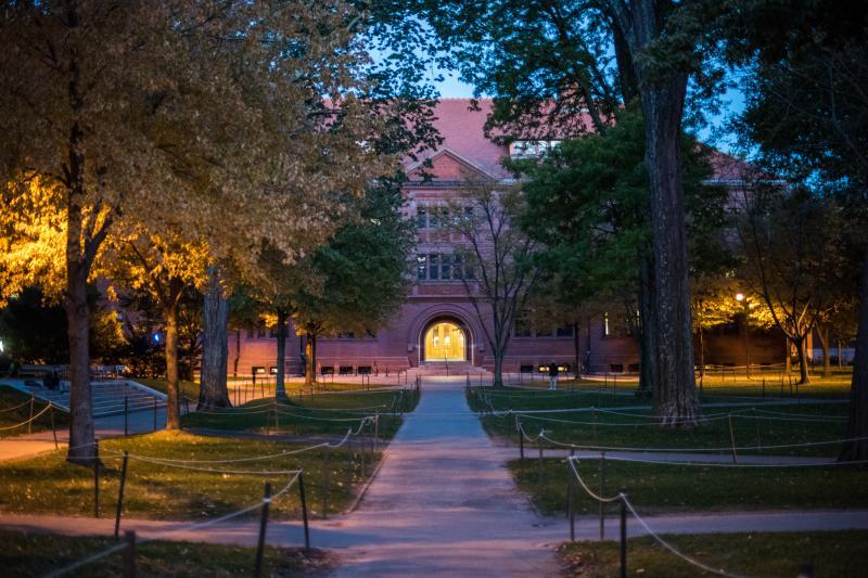 Sever Hall at Harvard